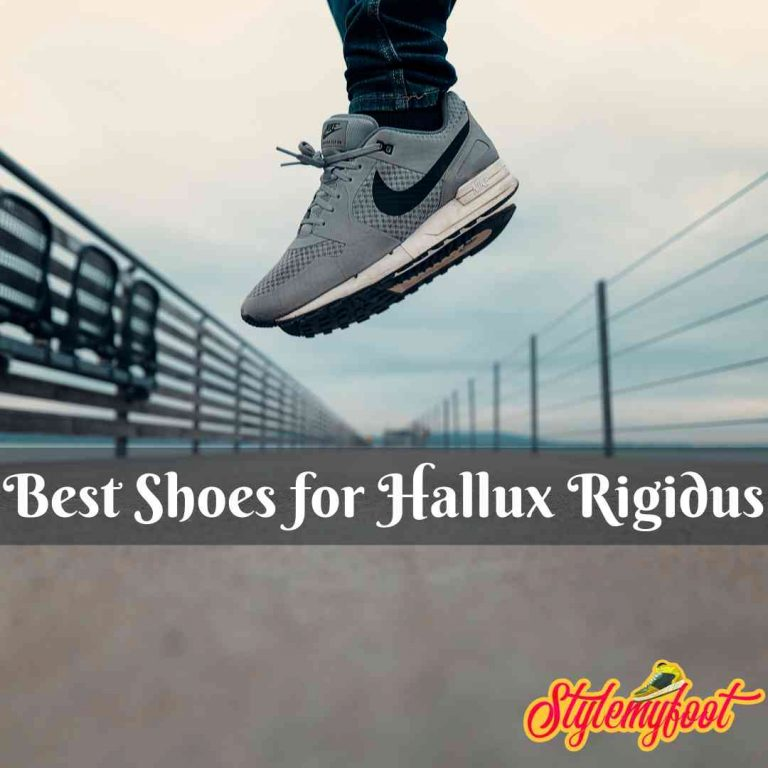Best Shoes for Hallux Rigidus
